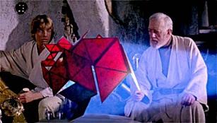 (Z)nZero di Pamela Ferri_proiezione olografica in Star Wars