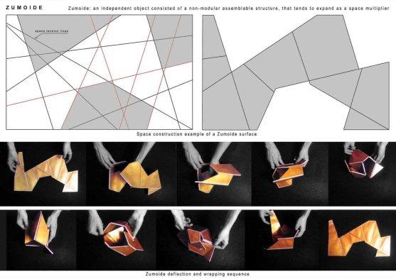 6 - Zumoide_esempio di costruzione e arrotolamento tridimensionale