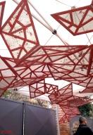 Angelo Rosso_installazione site spcific per SpazioCima_Roma_ Foto di ing. Enzo Montini