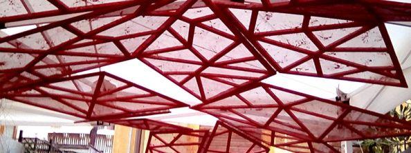 Angelo Rosso_installazione site spcific per SpazioCima_Roma