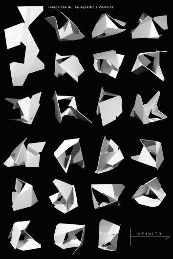 7- evoluzione di una superficie Zumoide